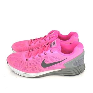 Nike Lunarglide 6 Womens Size 9 Pink Running S220